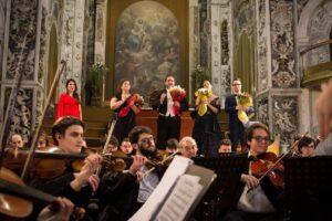 2 Gennaio 2019 Gran Concerto di Capodanno Seconda Edizione per Soli, Coro Lirico Mediterraneo e Orchestra Filarmonica della Sicilia, Palermo – Chiesa del Santissimo Salvatore. Direttore Artistico Nuccio Anselmo.