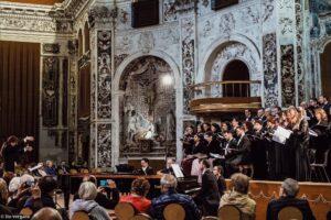 31 Marzo 2019 Petite Messe Solennelle di G. Rossini presso la Chiesa del Santissimo Salvatore di Palermo con il Coro Lirico Mediterraneo, solisti di Siciliarte Opera Management, direttore Alessandra Pipitone. Direttore Artistico Nuccio Anselmo.